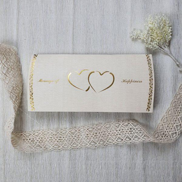 طرح روی لایی چاپی کارت عروسی کد 172