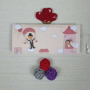 کارت عروسی فانتزی کد 2008