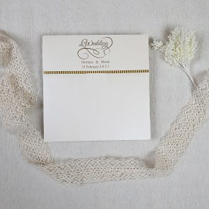 تصویر پاکت کارت عروسی ایندو کد 030
